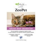 ZeoPet με άρωμα άγρια ορχιδέα – Φυσικό πρόσθετο απόσμησης λεκάνης γάτας για 30 ημέρες – 500gr