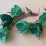 Σκουλαρίκια καμπανάκια από κουκούλι 11