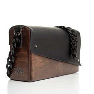 Χειροποίητη ξύλινη τσάντα Σαμάνθα - R&M