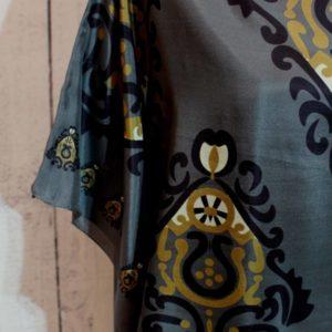 Μπλούζα από 100% Μετάξι 02-Φτερό