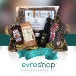 Καλάθι δώρου με επιλεγμένα εβρίτικα προϊόντα
