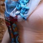 Φουλάρι 01-Γαλάζιο Πουλί